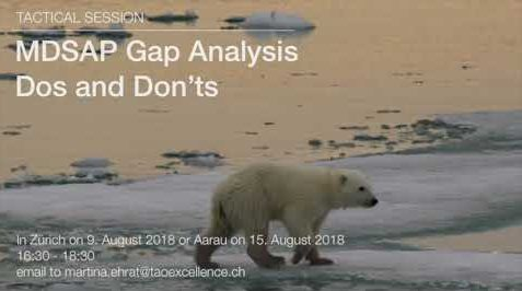 Tactical Session: MDSAP Gap Analysis – Dos and Don'ts