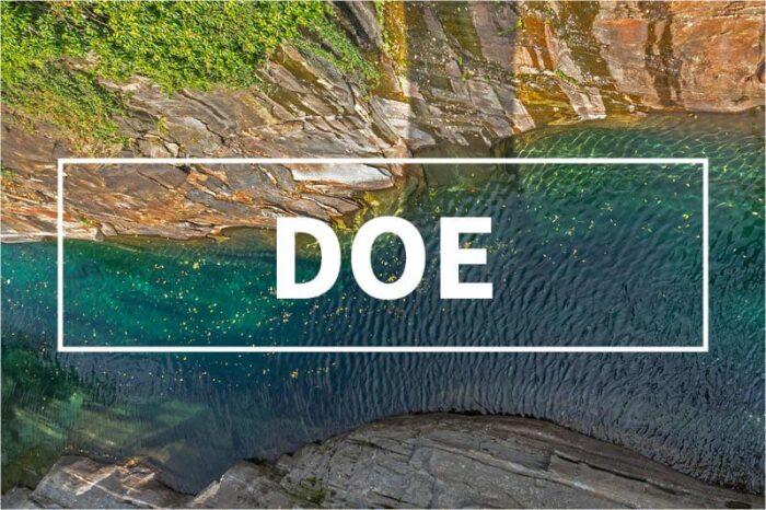 DOE Course